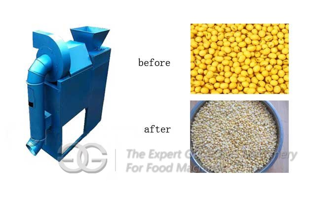 Soybean Peeling Machine For