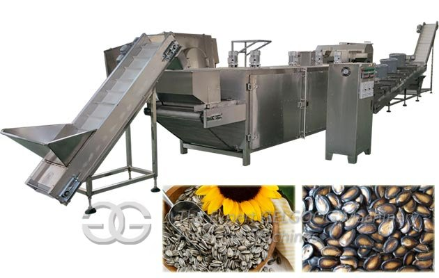 Sunflower Seed Roasting Machine Equipment Line