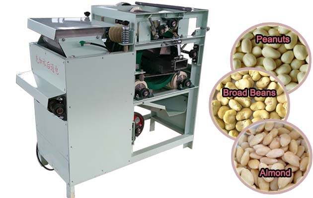 Wet Type Broad Bean Peeling Machine For High Output Capacity