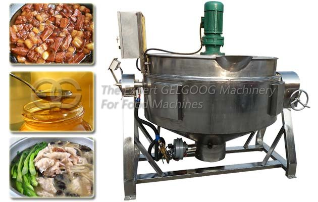 Honey Sugar Cooking Mixing Machine