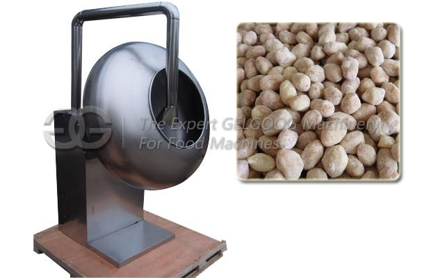 Automatic Peanut Sugar Coating Machine with Heating Function