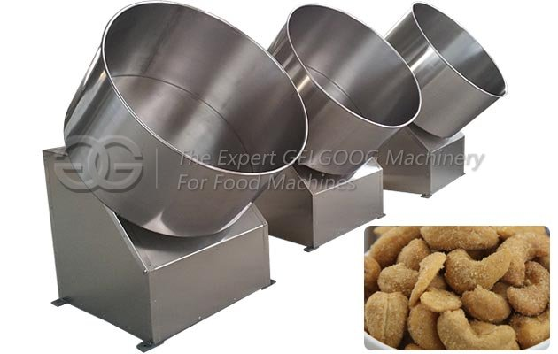 Automatic Cashew Nuts Coating Machine Supplier in China