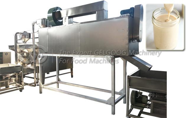 300kg/h Sesame Tahini Production Line Manufacturer in China