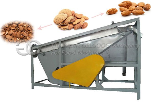 almond shell and separating machine