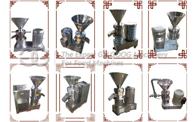 colloid mill grinding machine for sesame