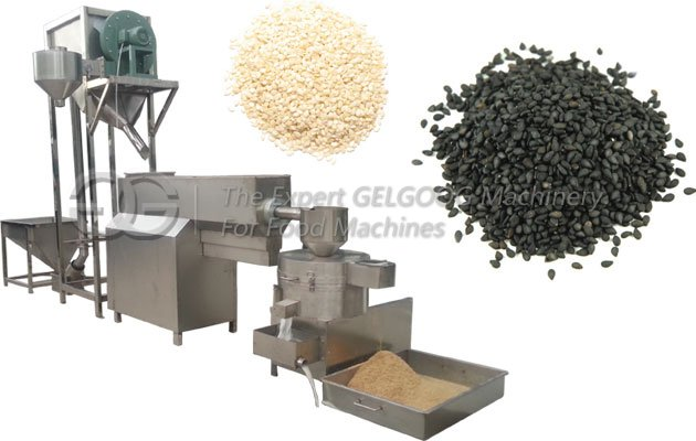 Sesame Washing And Drying Machine
