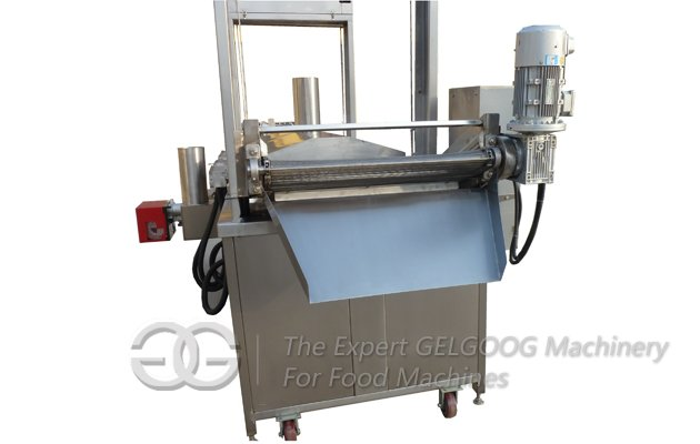 Electric Continuous Pork Rind Fryer Machine