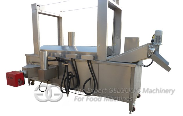 Continuous Frying Machine for Pork Skin