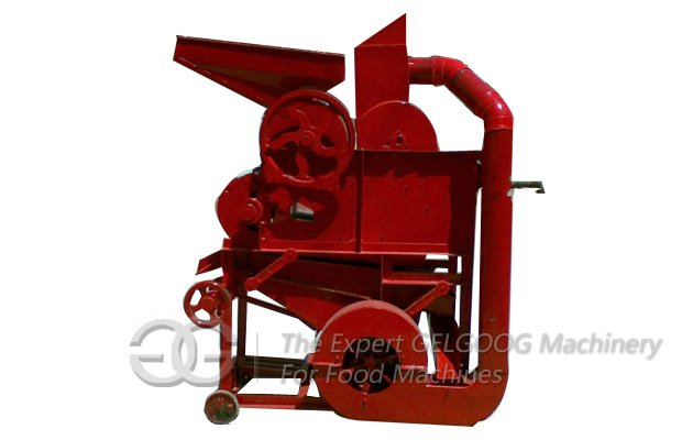 Red Peanut Shelling Machine For Commercial