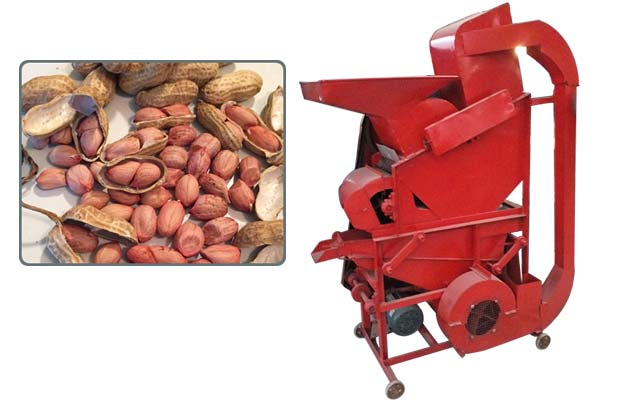 Machine for Shelling Peanuts