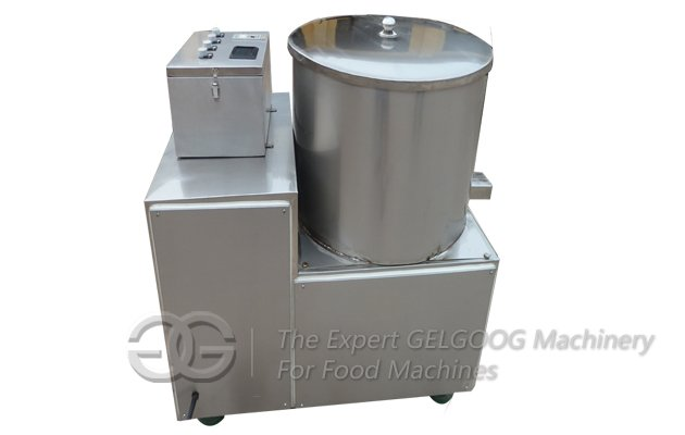 chips oil removing machine