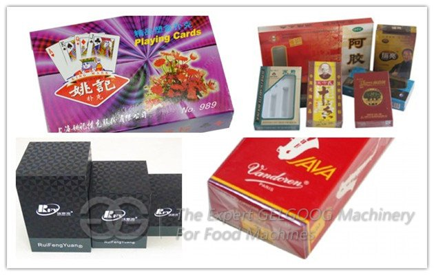 automatic poker cellophane packing machine