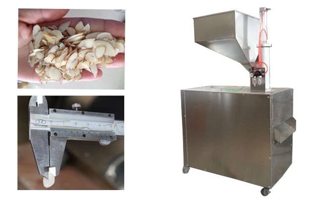 Multi-functional Almond Slicing Machine