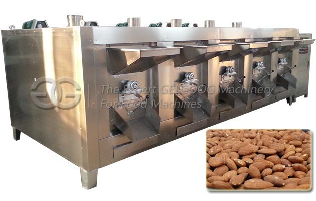 Commercial Almond Roaster Machine