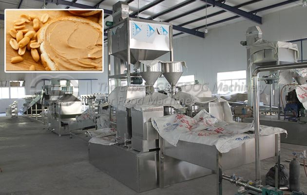 Peanut Butter Production Line Manufacturer