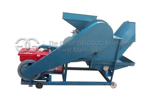 castor seeds shelling machine