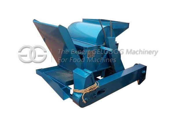 castor seeds shell cracking machine
