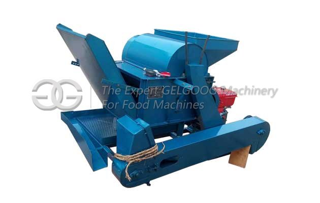 tea beans shelling machine