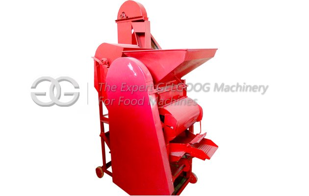 groundnut shell cracking machine