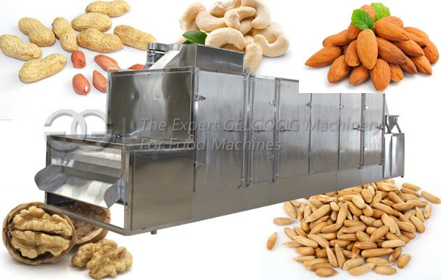 almond kernel baker machine