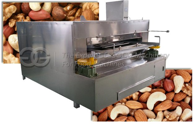 Swing Type Corn Roasting Machine