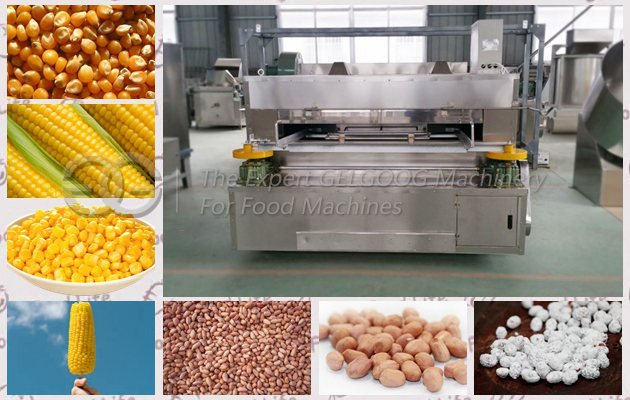 Corn Kernel Roaster Machine