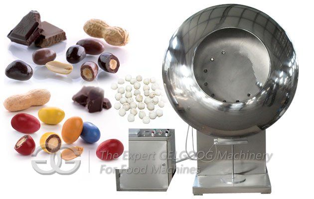 Commercial Nut Coating Machine