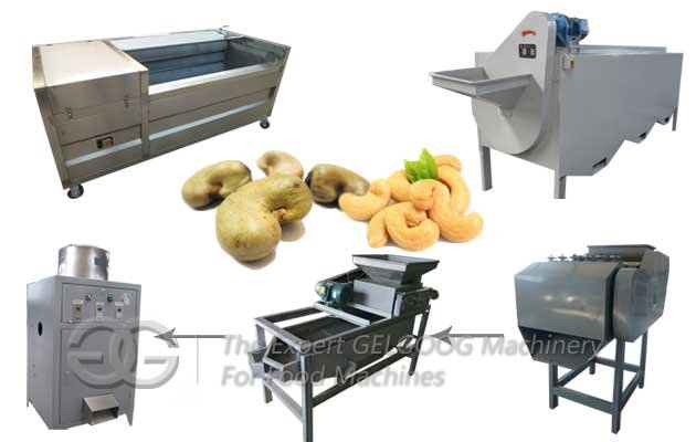 Cashew Nut Shelling Processing Line