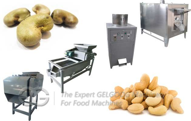 Cashew Nut Shelling Production Process