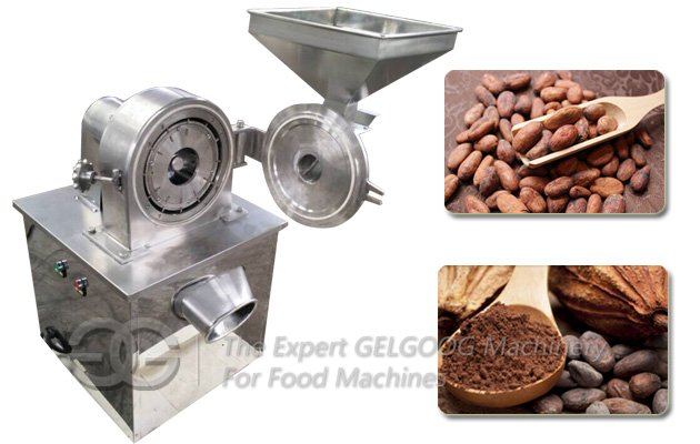 Cocoa Powder Grinding Machine With Stainless Steel