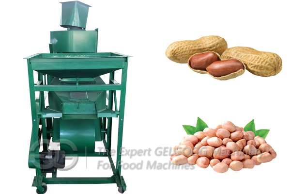 Peanut Shell Cracking Machine