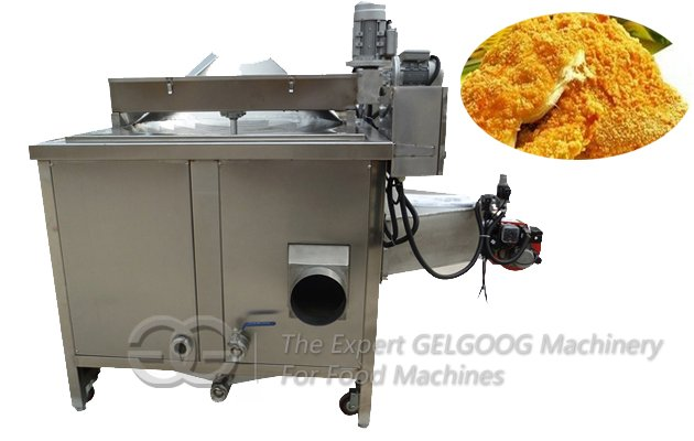 Automatic Potato Chips Deep Fryer Machine with Gas Electric Heating