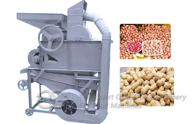 Gray Peanut Shelling Machine