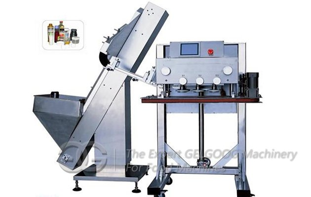 Automatic Peanut Butter Filling and Capping Machine